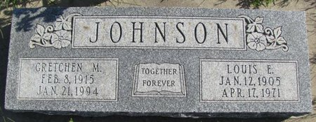 JOHNSON, GRETCHEN M. - Saunders County, Nebraska | GRETCHEN M. JOHNSON - Nebraska Gravestone Photos