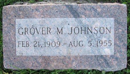 JOHNSON, GROVER M. - Saunders County, Nebraska | GROVER M. JOHNSON - Nebraska Gravestone Photos