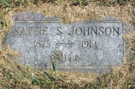 JOHNSON, HATTIE S - Saunders County, Nebraska | HATTIE S JOHNSON - Nebraska Gravestone Photos