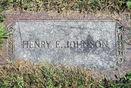 JOHNSON, HENRY E - Saunders County, Nebraska | HENRY E JOHNSON - Nebraska Gravestone Photos