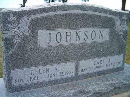 JOHNSON, HELEN A. - Saunders County, Nebraska   HELEN A. JOHNSON - Nebraska Gravestone Photos