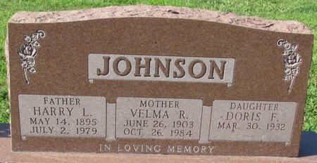 JOHNSON, VELMA R. - Saunders County, Nebraska | VELMA R. JOHNSON - Nebraska Gravestone Photos