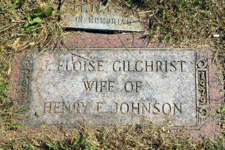 JOHNSON, J. ELOISE - Saunders County, Nebraska | J. ELOISE JOHNSON - Nebraska Gravestone Photos