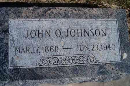 JOHNSON, JOHN O - Saunders County, Nebraska | JOHN O JOHNSON - Nebraska Gravestone Photos