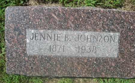 JOHNSON, JENNIE B. - Saunders County, Nebraska | JENNIE B. JOHNSON - Nebraska Gravestone Photos