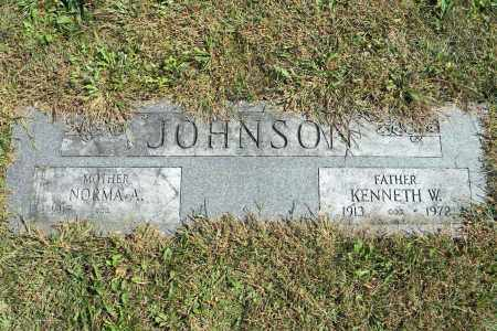 JOHNSON, KENNETH W - Saunders County, Nebraska | KENNETH W JOHNSON - Nebraska Gravestone Photos