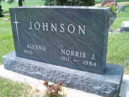 JOHNSON, NORRIS J - Saunders County, Nebraska | NORRIS J JOHNSON - Nebraska Gravestone Photos