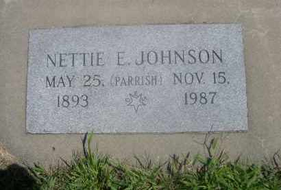 JOHNSON, NETTIE - Saunders County, Nebraska | NETTIE JOHNSON - Nebraska Gravestone Photos