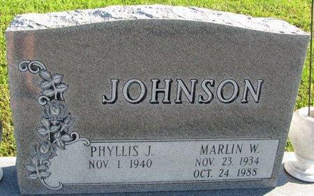 JOHNSON, PHYLLIS J. - Saunders County, Nebraska | PHYLLIS J. JOHNSON - Nebraska Gravestone Photos