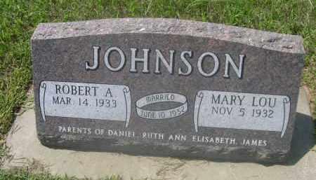 JOHNSON, ROBERT A. - Saunders County, Nebraska   ROBERT A. JOHNSON - Nebraska Gravestone Photos