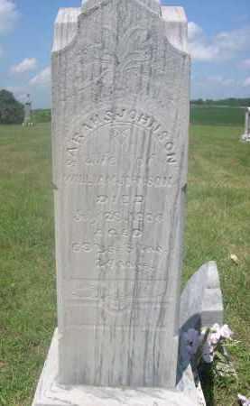 JOHNSON, SARAH S. - Saunders County, Nebraska | SARAH S. JOHNSON - Nebraska Gravestone Photos