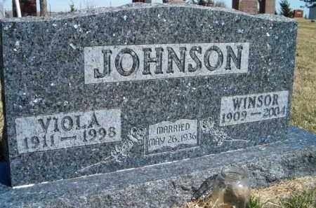 JOHNSON, VIOLA - Saunders County, Nebraska | VIOLA JOHNSON - Nebraska Gravestone Photos