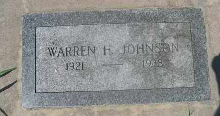 JOHNSON, WARREN H. - Saunders County, Nebraska   WARREN H. JOHNSON - Nebraska Gravestone Photos