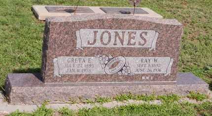 JONES, RAY W - Saunders County, Nebraska | RAY W JONES - Nebraska Gravestone Photos