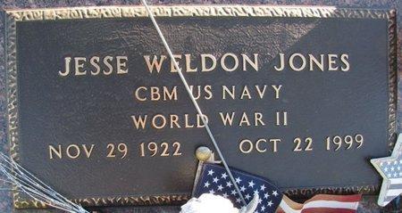 JONES, JESSE WELDON - Saunders County, Nebraska | JESSE WELDON JONES - Nebraska Gravestone Photos