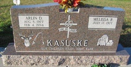 KASUSKE, ARLIN D. - Saunders County, Nebraska | ARLIN D. KASUSKE - Nebraska Gravestone Photos