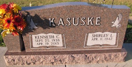 KASUSKE, KENNETH C. - Saunders County, Nebraska | KENNETH C. KASUSKE - Nebraska Gravestone Photos