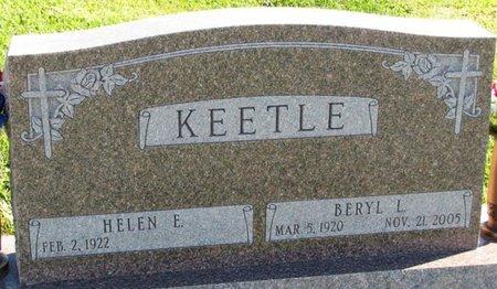 KEETLE, HELEN E. - Saunders County, Nebraska | HELEN E. KEETLE - Nebraska Gravestone Photos