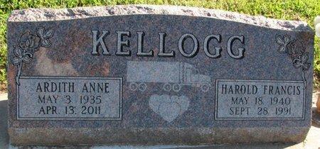 KELLOGG, ARDITH ANNE - Saunders County, Nebraska | ARDITH ANNE KELLOGG - Nebraska Gravestone Photos