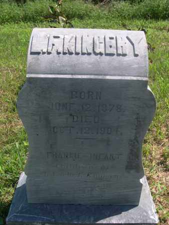 KINGERY, FRANKIE - Saunders County, Nebraska | FRANKIE KINGERY - Nebraska Gravestone Photos