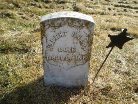KNAPP, ALBERT W - Saunders County, Nebraska   ALBERT W KNAPP - Nebraska Gravestone Photos