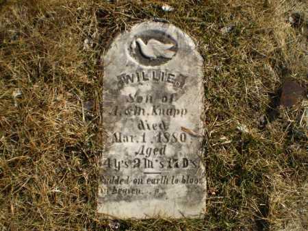 KNAPP, WILLIE - Saunders County, Nebraska   WILLIE KNAPP - Nebraska Gravestone Photos