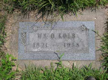 KOLB, WM. O. - Saunders County, Nebraska | WM. O. KOLB - Nebraska Gravestone Photos