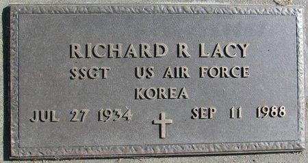 LACY, RICHARD R. - Saunders County, Nebraska | RICHARD R. LACY - Nebraska Gravestone Photos