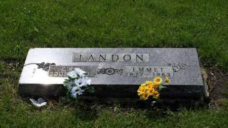 LANDON, EMMET - Saunders County, Nebraska | EMMET LANDON - Nebraska Gravestone Photos