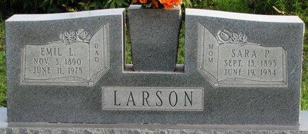 LARSON, EMIL L. - Saunders County, Nebraska | EMIL L. LARSON - Nebraska Gravestone Photos