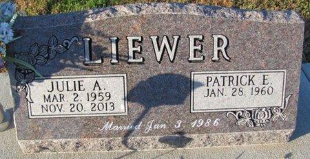LIEWER, JULIE A. - Saunders County, Nebraska | JULIE A. LIEWER - Nebraska Gravestone Photos
