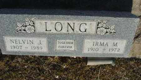 LONG, IRMA M. - Saunders County, Nebraska | IRMA M. LONG - Nebraska Gravestone Photos