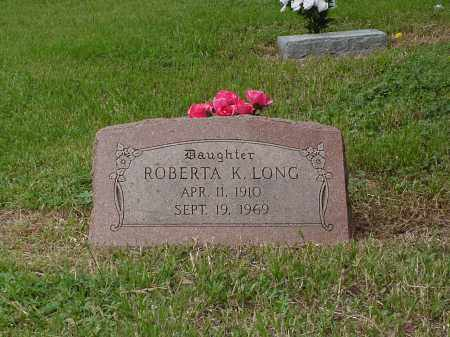 LONG, ROBERTA KEITH - Saunders County, Nebraska | ROBERTA KEITH LONG - Nebraska Gravestone Photos
