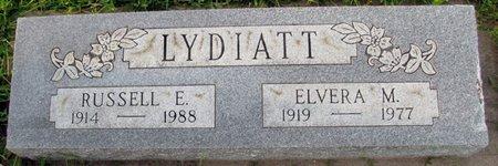 LYDIATT, ELVERA M. - Saunders County, Nebraska | ELVERA M. LYDIATT - Nebraska Gravestone Photos
