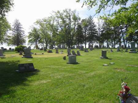 *MAPLE GROVE CEMETERY, OVERVIEW - Saunders County, Nebraska | OVERVIEW *MAPLE GROVE CEMETERY - Nebraska Gravestone Photos