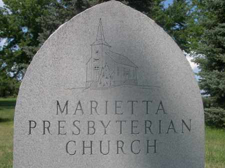 MARIETTA CEMETERY, INFORMATION ABOUT - Saunders County, Nebraska | INFORMATION ABOUT MARIETTA CEMETERY - Nebraska Gravestone Photos