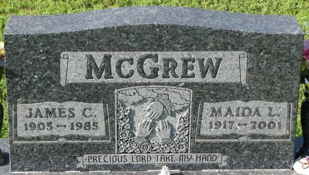 MCGREW, JAMES C. - Saunders County, Nebraska   JAMES C. MCGREW - Nebraska Gravestone Photos