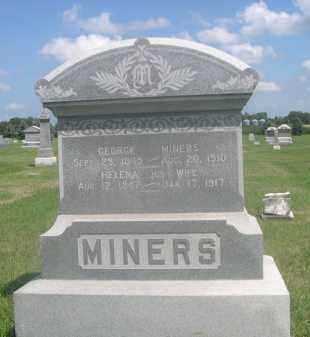 MINERS, HELENA - Saunders County, Nebraska | HELENA MINERS - Nebraska Gravestone Photos