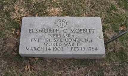 MOFFITT, ELSWORTH C - Saunders County, Nebraska | ELSWORTH C MOFFITT - Nebraska Gravestone Photos
