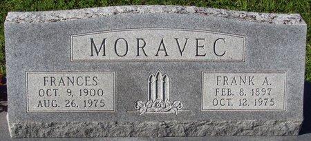 MORAVEC, FRANK A. - Saunders County, Nebraska   FRANK A. MORAVEC - Nebraska Gravestone Photos