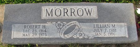MORROW, ROBERT H. - Saunders County, Nebraska | ROBERT H. MORROW - Nebraska Gravestone Photos