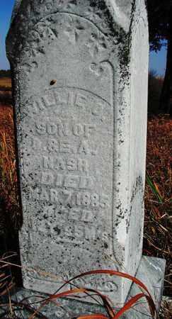 NASH, WILLIAM ORVIN - Saunders County, Nebraska | WILLIAM ORVIN NASH - Nebraska Gravestone Photos