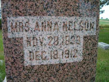 NELSON, ANNA - Saunders County, Nebraska   ANNA NELSON - Nebraska Gravestone Photos