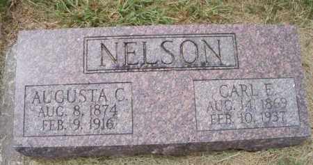 NELSON, AUGUSTA C - Saunders County, Nebraska | AUGUSTA C NELSON - Nebraska Gravestone Photos