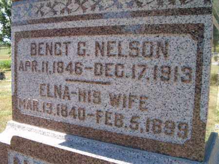 NELSON, ELNA - Saunders County, Nebraska | ELNA NELSON - Nebraska Gravestone Photos