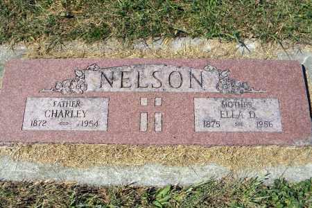 NELSON, ELLA D - Saunders County, Nebraska | ELLA D NELSON - Nebraska Gravestone Photos