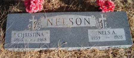 NELSON, NELS A - Saunders County, Nebraska | NELS A NELSON - Nebraska Gravestone Photos