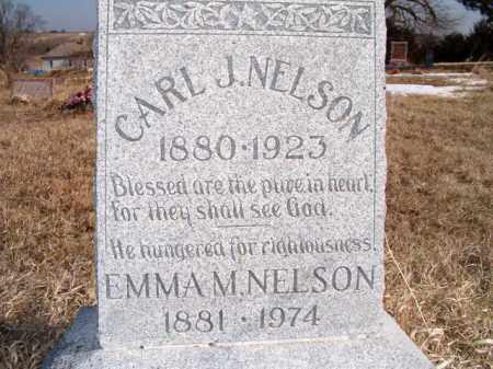 NELSON, EMMA M - Saunders County, Nebraska   EMMA M NELSON - Nebraska Gravestone Photos