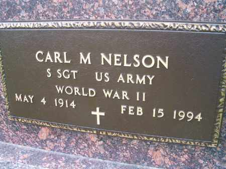 NELSON, CARL M. (MILITARY MARKER) - Saunders County, Nebraska | CARL M. (MILITARY MARKER) NELSON - Nebraska Gravestone Photos