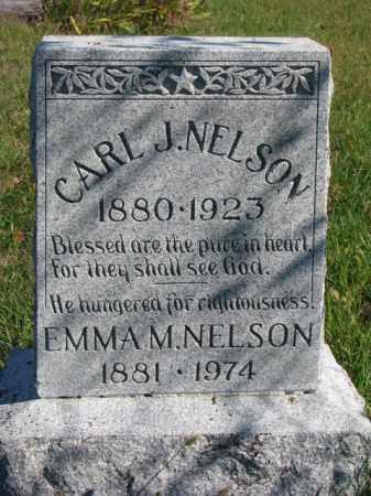 NELSON, EMMA M. - Saunders County, Nebraska | EMMA M. NELSON - Nebraska Gravestone Photos
